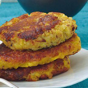 Blumenkohl-Kartoffelplätzchen Rezept | Küchengötter