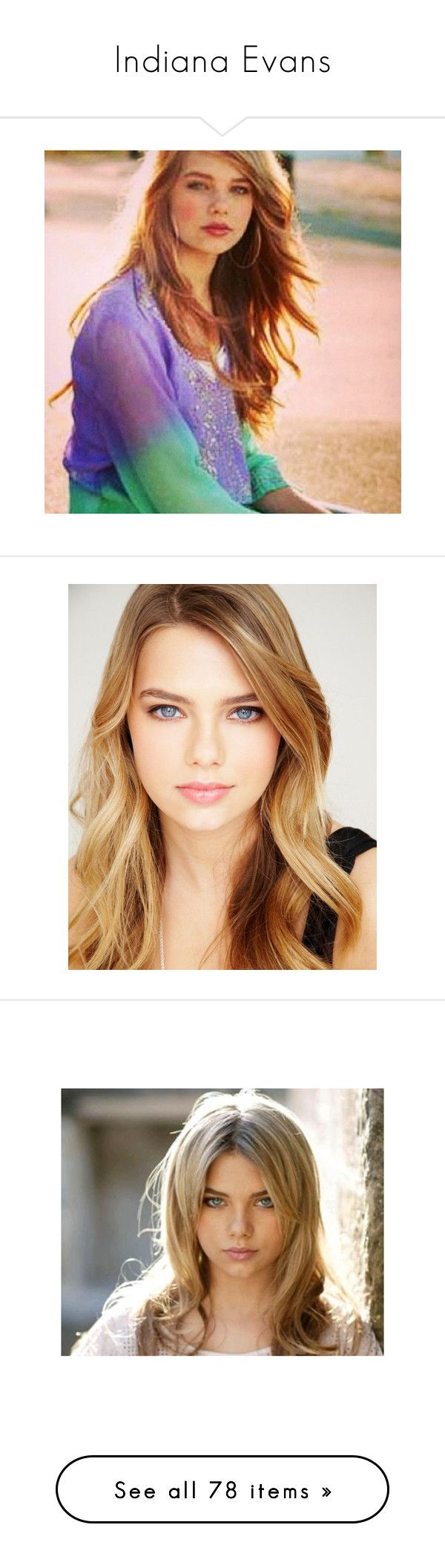 """""""Indiana Evans"""" by rominix011 ❤ liked on Polyvore featuring indiana evans, girls, people, hair, celebrities, accessories, hair accessories, models, role play and индиана эванс"""