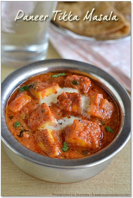 Paneer Tikka Masala and Paneer Tikka Recipe(Stove-top method)