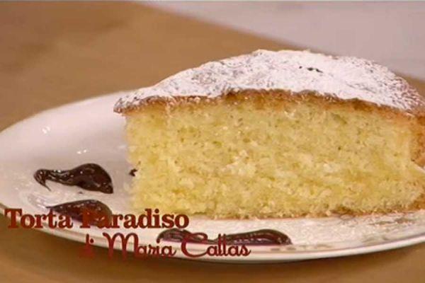 Torta paradiso di Maria Callas - I menù di Benedetta