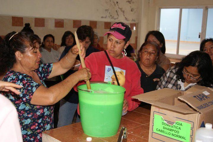 Imparten cursos de tecnoligias domésticas en Nanacamilpa