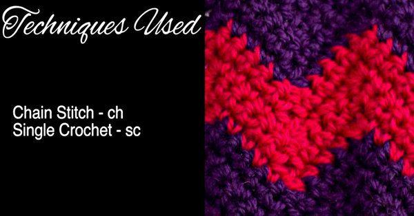 I Love The Way This Close Chevron Stitch Looks!