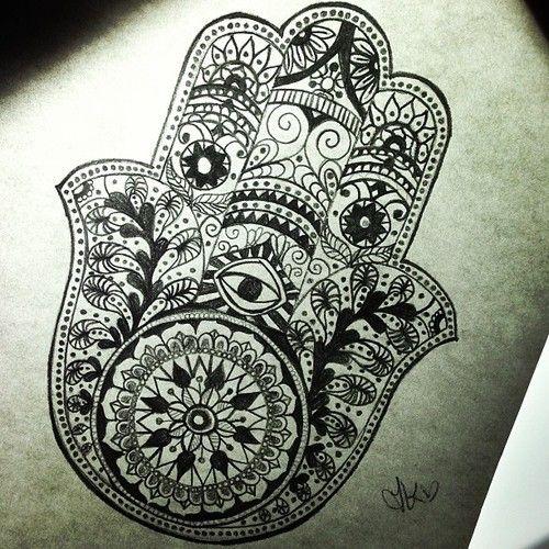 jewish hamsa tattoo - Google Search | Tattoos | Pinterest ...