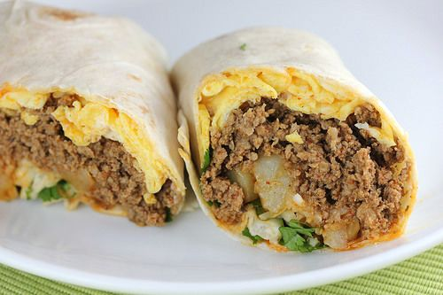 Chorizo and Egg Burrito