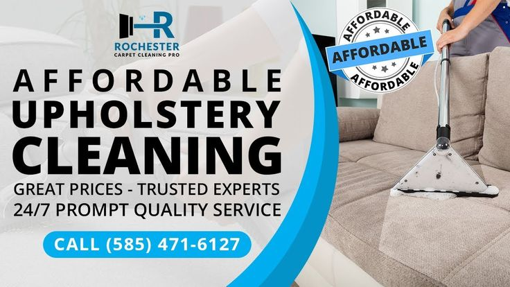 Affordable Upholstery Cleaning Rochester NY | (585) 471 6127