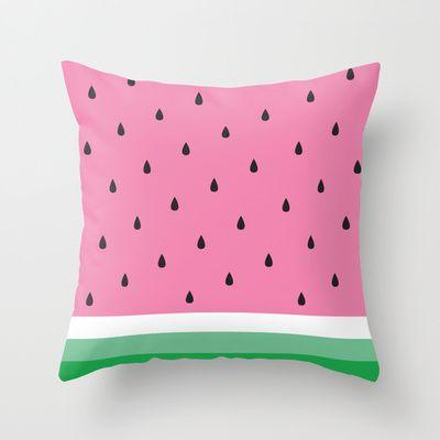 Cutest watermelon pillow