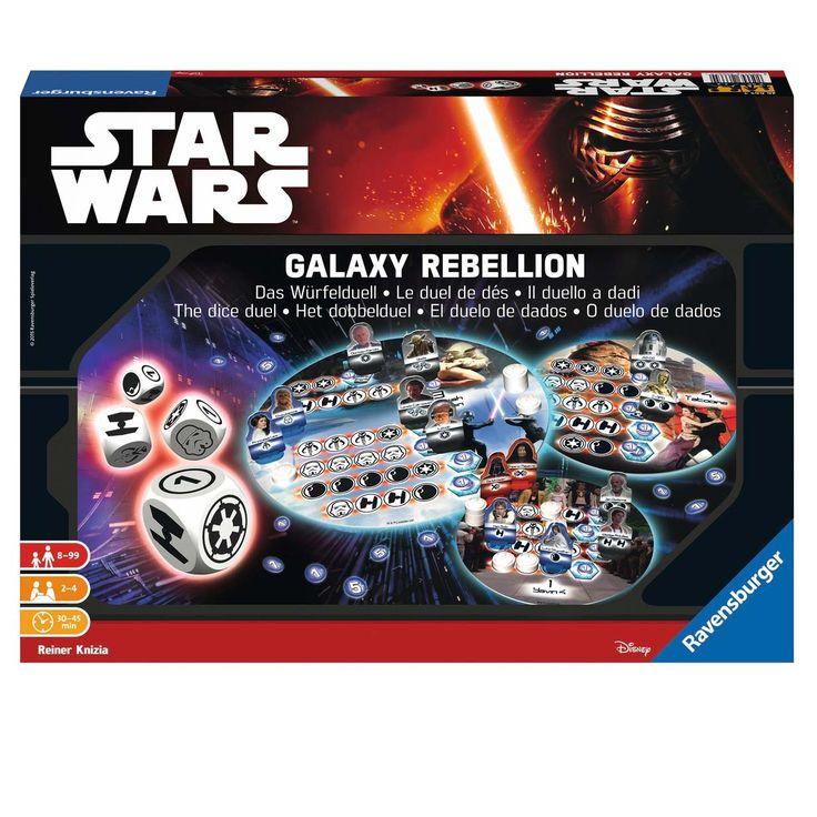 Samen met de dappere Star Wars rebellen Luke Skywalker, Prinses Leia, Kapitein Han Solo en Wookiee Chewbacca reizen jullie in de strijd tegen het Imperium door het heelal. Op de planeten Yavin 4, Hoth, Dagobath en Bespin, Tatooine, Endor en Death Star 2 wachten jullie spannende dobbelduels! Alleen wie het lukt de dobbelstenen slim in te zetten, krijgt belangrijke overwinningspunten en de steun van bondgenoten tijdens het spel. Maar pas op: mislukt een worp, dan verschijnen de beruchte Sith…
