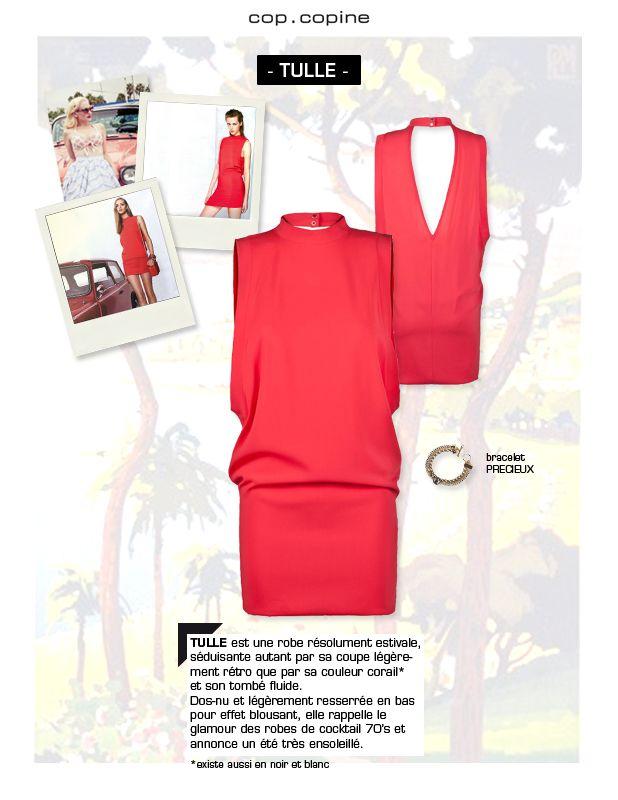 -Get dressed! #1- un clin d'œil glamour 70's avec la robe TULLE