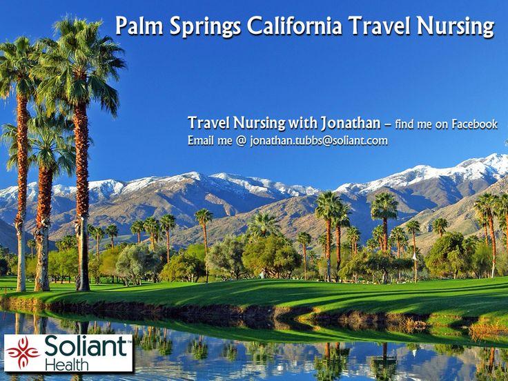 Palm Springs CA RN First Assistant (RNFA) TravelNursing