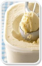 Vanilla Ice Cream with NO gluten, dairy or egg! #glutenfree #dairyfree #eggfree #icecream