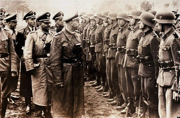 Chilling Extracts From The Himmler Diaries Which Were Found In A Russian Archive