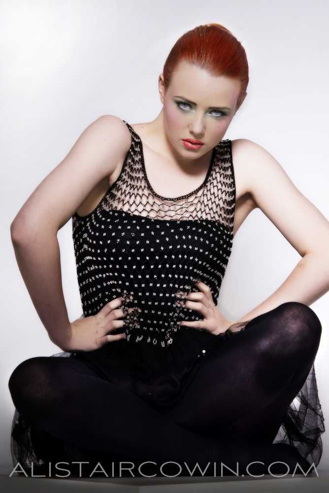 Images shot in studio for model's Portfolio.  Hair and makeup by Gemma Richmond