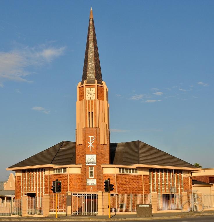 Dutch Reformed church of East London North, Eastern Cape, South Africa. By #PhotoJdB