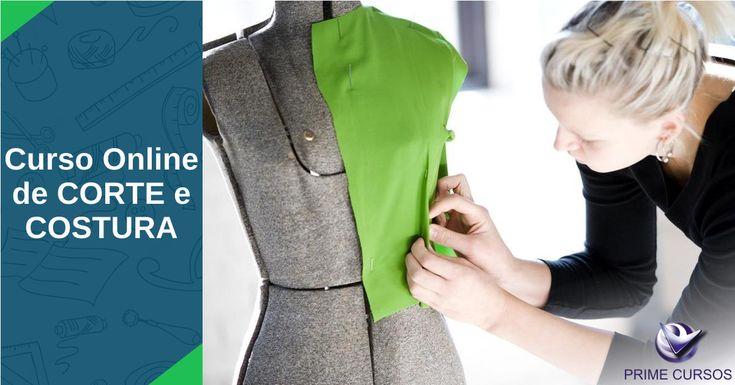 Com este curso de corte e costura grátis, o aluno aprenderá as principais noções, desde como escolher e comprar um tecido, prepará-lo e cortá-lo, até noções básicas de estilismo e moda.