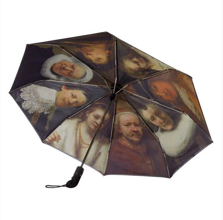 Produit découvert grâce à www.shopatthemuseum.fr : Parapluie «Rembrandt»