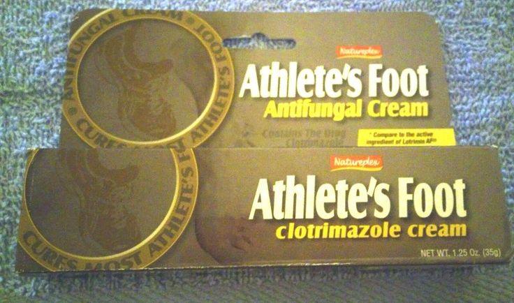 Athlete's Foot Antifungal Cream by Naturplex Cures Most Athelete's Foot mtc #Natureplex
