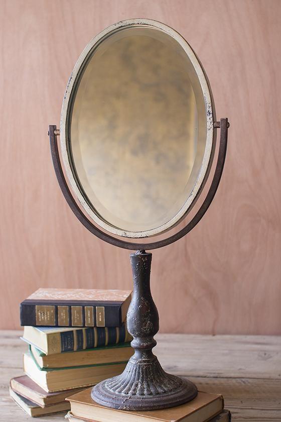 Marbella Makeup Mirror   Makeup Mirror   Table Mirrors   Tabletop Vanity  Mirror | HomeDecorators.