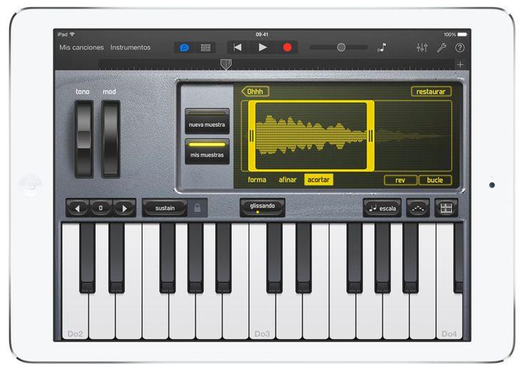 GarageBand #iPad #iPadAir