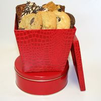 Red Gift Box: Gift Baskets, Gift Boxes, Gifts Baskets, Red Gifts, Holidays Gifts, Gifts Boxes
