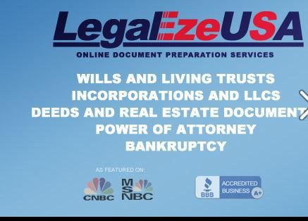 LegalEzeUSA is a trusted and secure source of expert-prepared legal documents.
