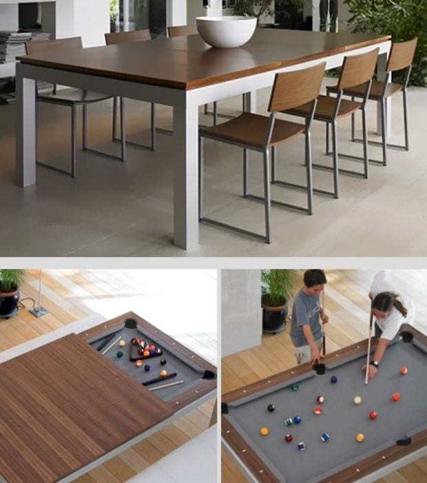 Best 25 billard table ideas on pinterest man cave pool for Table bar retractable