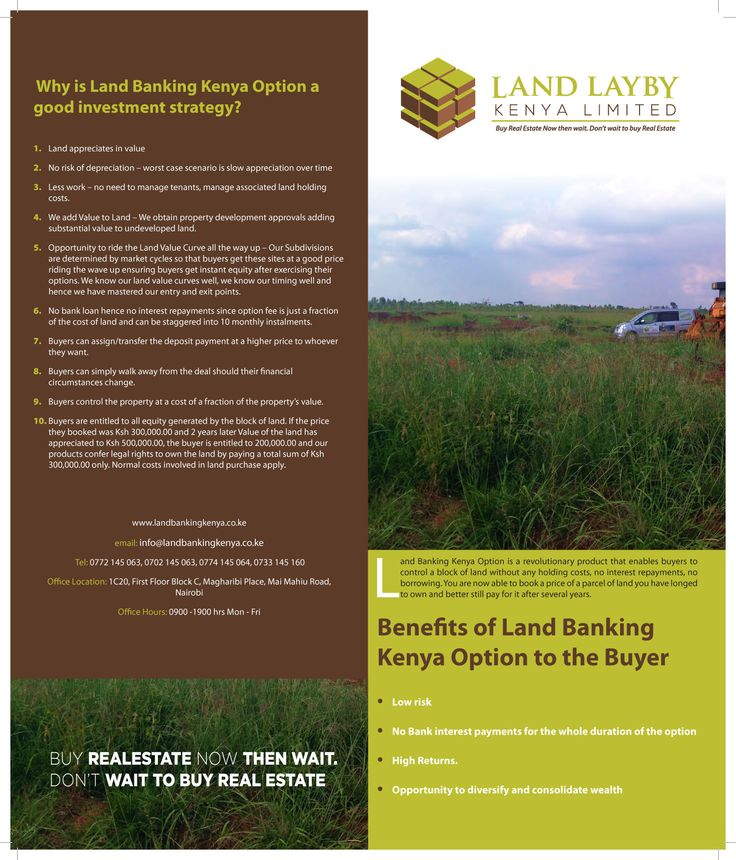 Land without Bank Loans.