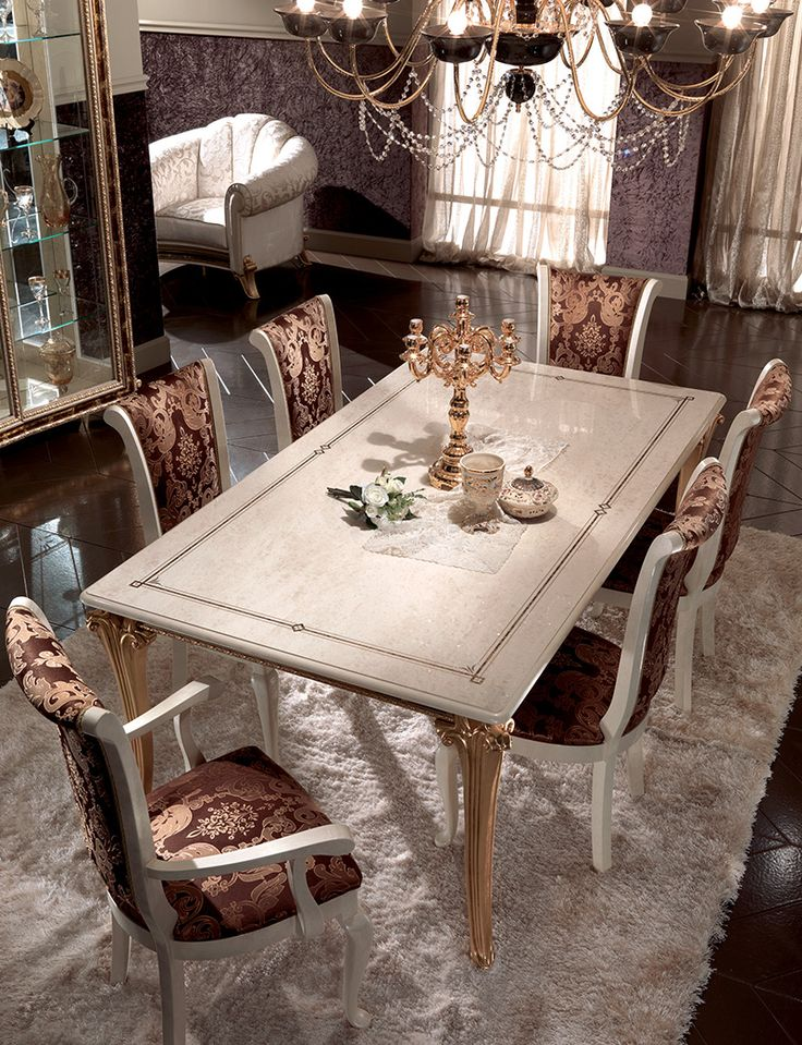 Raffaello Rollection Dining Room, Table www.arredoclassic.com/dining-room/tables-raffaello