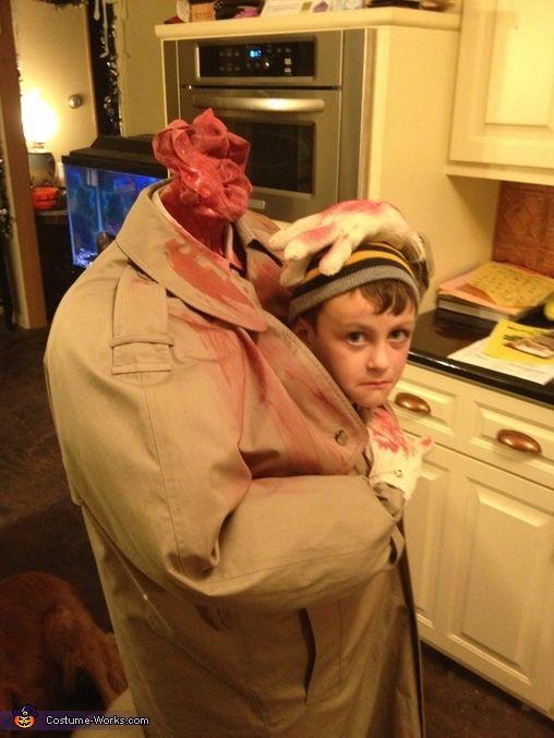 Headless Person - Homemade Costume Idea for Kids