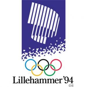 Official logo for the 1994 Olympic games in Lillehammer