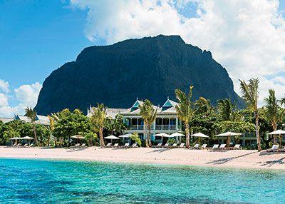 Mauritius. The place to stay is the year-old St. Regis Mauritius Resort