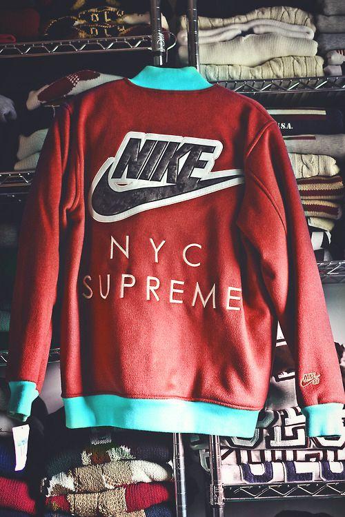 NIKE NYC SUPREME Jacket