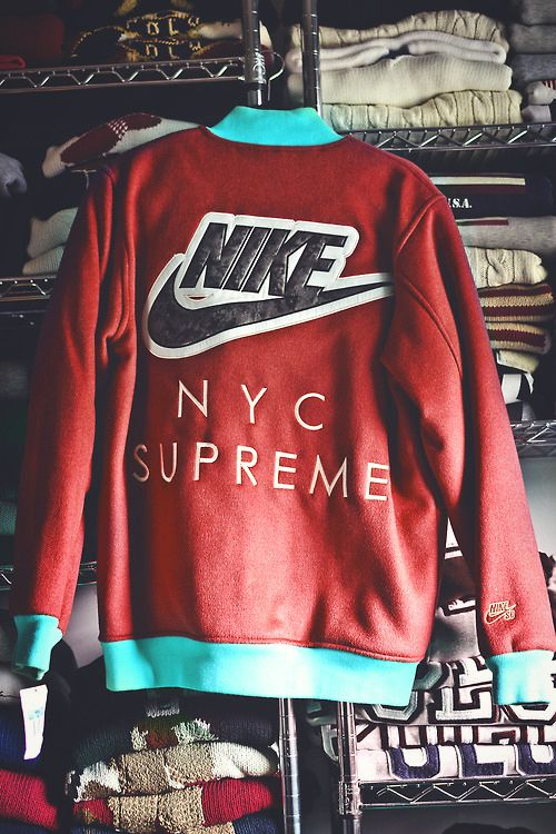 NIKE NYC SUPREME Jacket