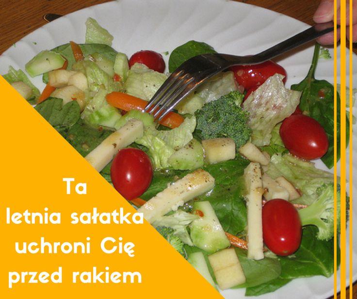 Ta letnia sałatka uchroni Cię przed rakiem>> http://www.mapazdrowia.pl/przepisy/salatka-chroniaca-przed-rakiem/