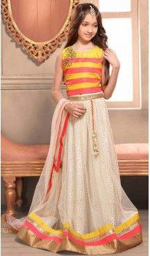 Yallow Color Bhagalpori Silk Fabric Readymade Kids Girl Lehenga Choli   FH00031026 ---> Follow us @heenastyle  <----  ---  #kidsgowns #kidswear #gownstyle #allthingsbridal #bridalsuits #ethnicfashion #celebrity #bollywooddesigns #bollywoodsuits #partywear #collection #wedding #womenswear #kuwait #luxerydress #princess #kidsdesigner #robedeprincesse #anniversaireenfant #vestitibambini #Turkey #istanbul #couturekidsclothes #kidstrends #heenastyle