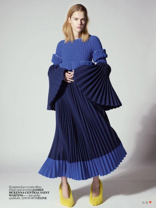Vogue Turkey April 2013  Model: Stina Rapp Wastenson