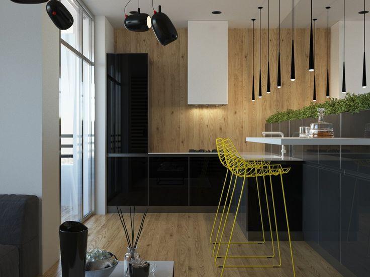 Современная кухня с уклоном в эко стиль - ALNO. Современные кухни: дизайн и эргономика | PINWIN - конкурсы для архитекторов, дизайнеров, декораторов