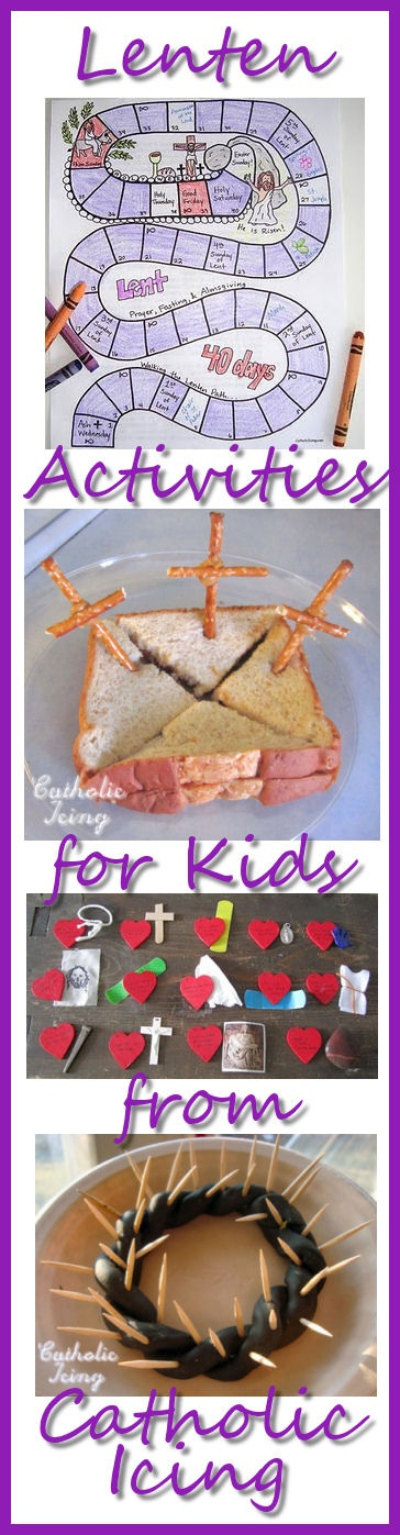 Stations of the Cross Sensory activity from Catholicicing.com