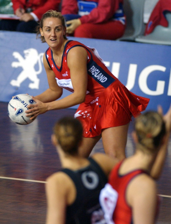 England's Tracey Neville is hoping netball can gain Olympic status.