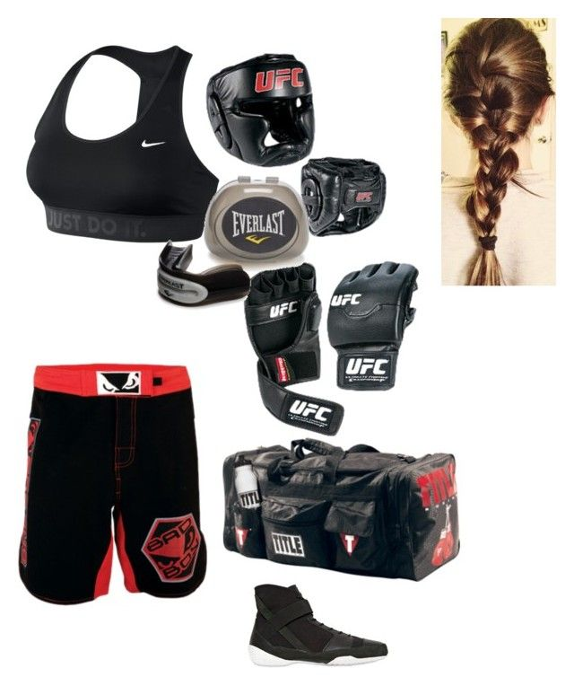 """""""Boxing outfit"""" by tomboyplease ❤ liked on Polyvore featuring NIKE, Everlast and adidas"""