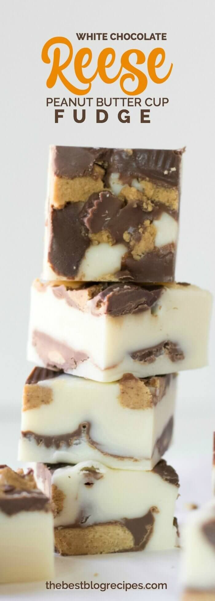 Are you very good at making fudge? Even if you aren't our White Chocolate Reese's Peanut Butter Cup Fudge Bites are super easy to make are are delicious!