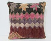 moroccan pillow cover 18x18 decorative throw pillow unique decor home furnishings kilim pillow case striped throw pillow aztec pillows 26189