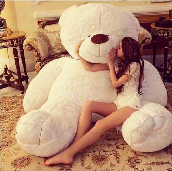 Resultado de imagen para oso de peluche gigante tumblr