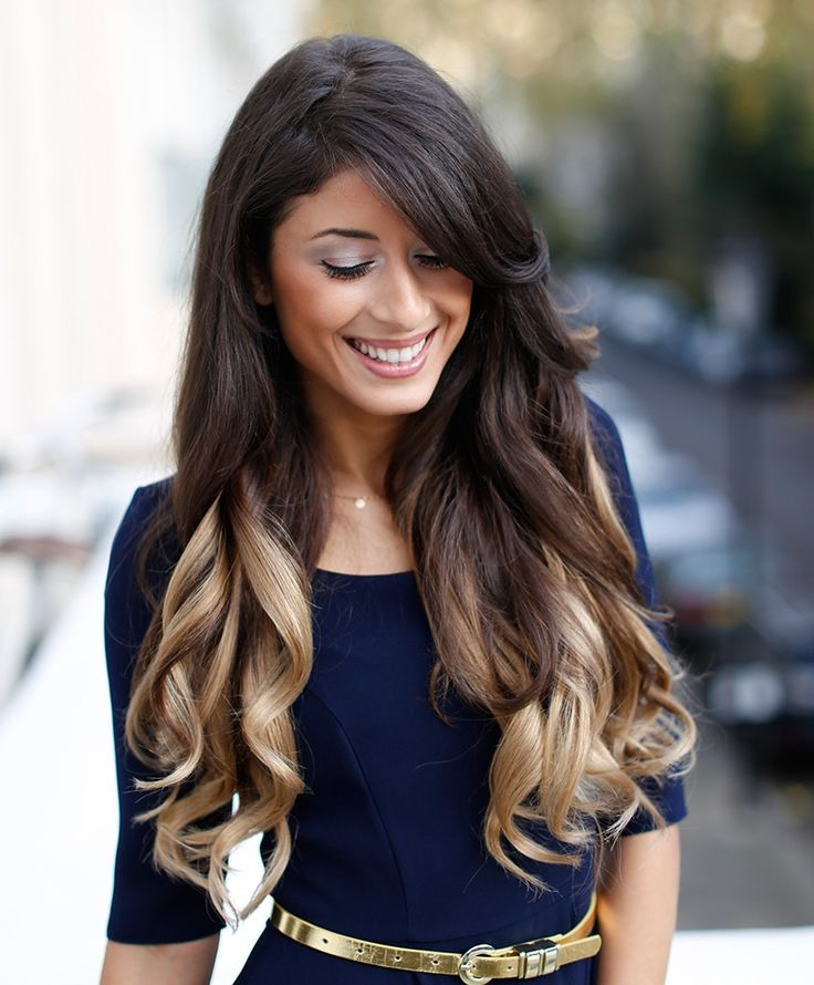 2016 Hottest Long Black Hairstyles 2016 Haircuts Hairstyles And : Black Ombre Hair