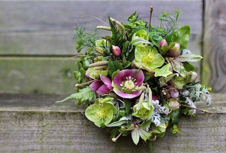Winter Wedding Flowers ~ Hellebores - Mon Cheri Bridals
