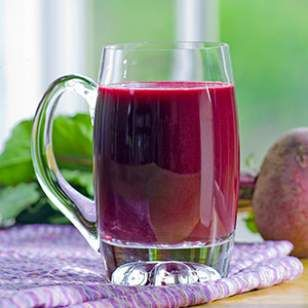 Ginger-Beet Juice; Success calls for consistent small steps over time. Radio segment: http://susanmitchell.org/2014/01/new-year-new/