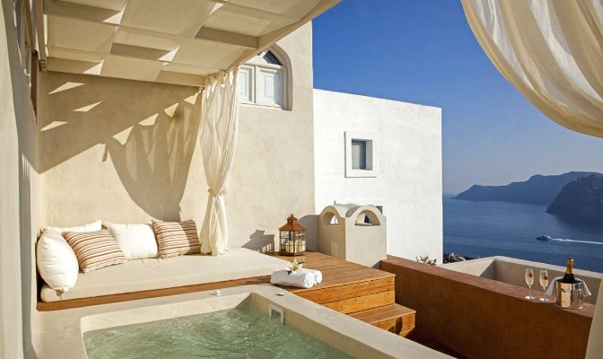 1000 Images About Greek Style Home On Pinterest Nooks Santorini