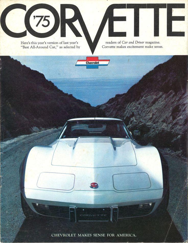 Spirit of '75: 1975 Chevrolet Corvette brochure