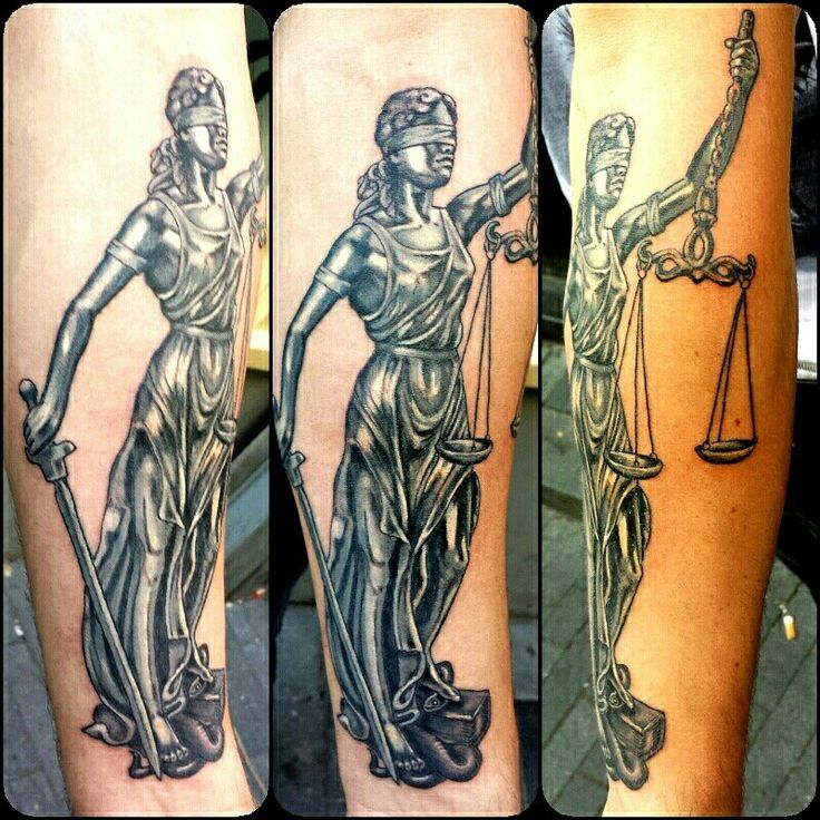 Tattoo Lady Justice: Lady Justice Tattoo