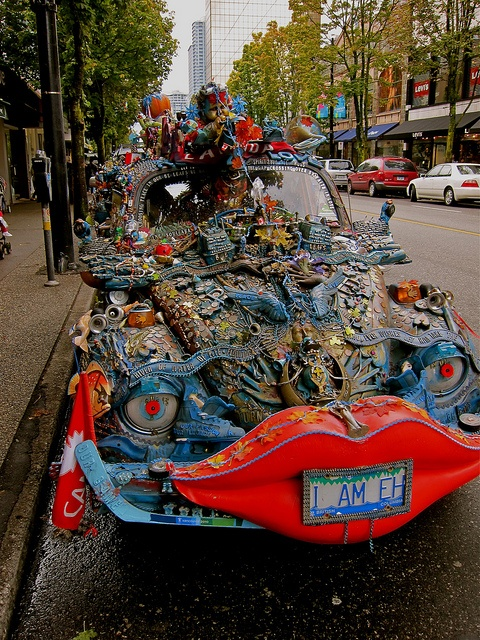 Art Car, Vancouver, B.C., Canada by Curtis Cronn, via Flickr