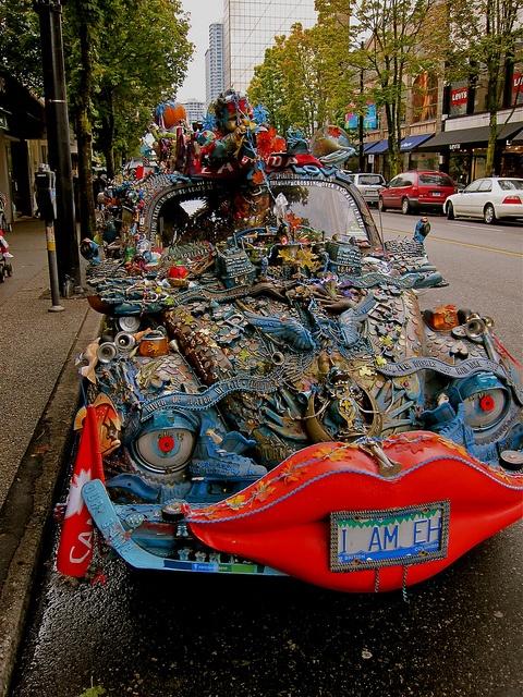 Art Car, Vancouver, B.C., Canada by Curtis Cronn, via Flickr